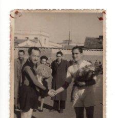 Coleccionismo deportivo: VALLECAS (MADRID) 1943 PARTIDO ENTRE EL CHAMBERÍ Y EL ASTURIAS. CAMPO DEL RODIVAL DEL RAYO VALLECANO. Lote 132420310