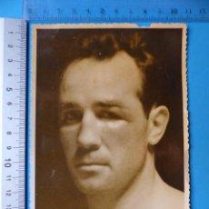 Coleccionismo deportivo: BOXEO, FRED GALIANA - FOTOGRAFIA, AÑOS 1950-60. Lote 132445622
