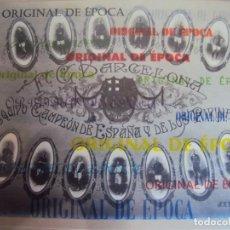 Coleccionismo deportivo: (F-180910)FOTOGRAFIA ORIGINAL F.C.BARCELONA CAMPEON DE ESPAÑA Y LOS PIRINEOS 1910 - FOTO J.E.PUIG. Lote 132461466