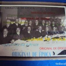 Coleccionismo deportivo: (F-180915)FOTOGRAFIA DE JOAQUIM PERIS DE VARGAS,PRESIDENTE DEL F.C.BARCELONA 1914-15 Y RICARD CABOT. Lote 132466274