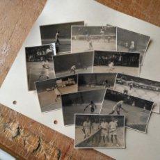 Coleccionismo deportivo: 12 FOTOGRAFIAS AÑO 1952 JUGADORES DEL CLUB DE TENIS CADIZ CAMPEONATO COPA . VER FOTOS. Lote 132755102