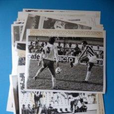 Coleccionismo deportivo - 23 FOTOGRAFIAS FUTBOL CASTELLON C.F. - AÑOS 1980 - MALAGA, LOGROÑES, OVIEDO, LAS PALMAS, HERCULES - 133151802