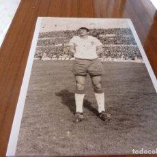 Coleccionismo deportivo: FOTO(20 X 15)BUSTILLO TEMP.67-68 ÚLTIMO PARTIDO CON R.ZARAGOZA ESTANDO YA FICHADO F.C.BARCELONA. Lote 133534582