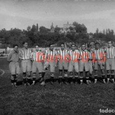 Coleccionismo deportivo: EQUIPO DE FUTBOL ATLÉTICO DE MADRID 1929 - FOTOGRAFIA ANTIGUA - NEGATIVO DE CRISTAL. Lote 133541002