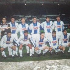 Coleccionismo deportivo: FÚTBOL - REAL CLUB DEPORTIVO ESPAÑOL - ANTIGUO EQUIPO - FOTO ORIGINAL, 15 X 10 CMS. Lote 133659778