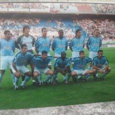 Coleccionismo deportivo: FÚTBOL - REAL CLUB CELTA DE VIGO - ANTIGUO EQUIPO - FOTO ORIGINAL, 15 X 10 CMS. Lote 133659922