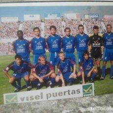 Coleccionismo deportivo: GETAFE CLUB DE FÚTBOL - ANTIGUO EQUIPO - FOTO ORIGINAL, 15 X 10 CMS. Lote 133660190