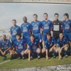 Coleccionismo deportivo: GETAFE CLUB DE FÚTBOL - ANTIGUO EQUIPO - FOTO ORIGINAL, 15 X 10 CMS. Lote 133660226
