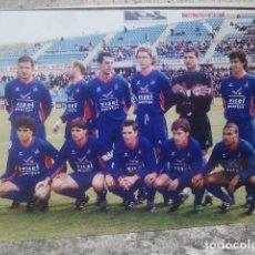 Coleccionismo deportivo: GETAFE CLUB DE FÚTBOL - ANTIGUO EQUIPO - FOTO ORIGINAL, 15 X 10 CMS. Lote 133660302