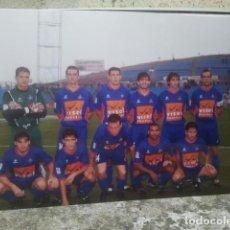 Coleccionismo deportivo: GETAFE CLUB DE FÚTBOL - ANTIGUO EQUIPO - FOTO ORIGINAL, 15 X 10 CMS. Lote 133660310