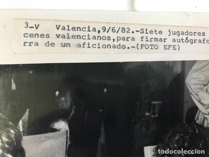 Coleccionismo deportivo: 27 FOTOGRAFIAS FUTBOL SELECCION ESPAÑOLA - AÑOS 1980 - ARCONADA, MICHEL, SATRUSTEGUI, SANTILLANA,... - Foto 18 - 133902658