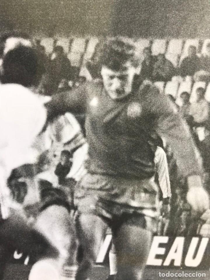 Coleccionismo deportivo: 27 FOTOGRAFIAS FUTBOL SELECCION ESPAÑOLA - AÑOS 1980 - ARCONADA, MICHEL, SATRUSTEGUI, SANTILLANA,... - Foto 22 - 133902658