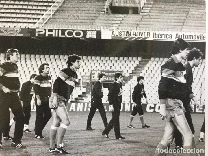 Coleccionismo deportivo: 27 FOTOGRAFIAS FUTBOL SELECCION ESPAÑOLA - AÑOS 1980 - ARCONADA, MICHEL, SATRUSTEGUI, SANTILLANA,... - Foto 33 - 133902658