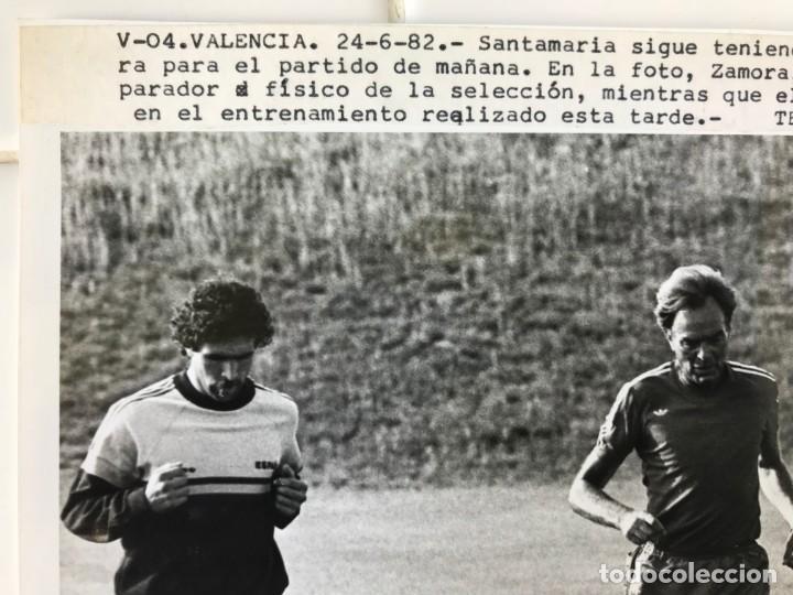 Coleccionismo deportivo: 27 FOTOGRAFIAS FUTBOL SELECCION ESPAÑOLA - AÑOS 1980 - ARCONADA, MICHEL, SATRUSTEGUI, SANTILLANA,... - Foto 80 - 133902658