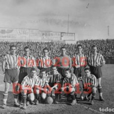 Coleccionismo deportivo: ATHLETIC DE BILBAO 1942 - ATHLETIC CLUB 1942 - FOTOGRAFIA ANTIGUA DE FUTBOL - NEGATIVO DE CRISTAL. Lote 134332510