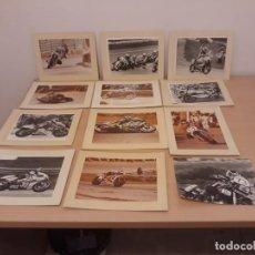 Coleccionismo deportivo: LOTE 21 FOTOS MOTORISMO AÑOS 70-80. Lote 134443086