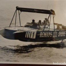 Coleccionismo deportivo - FOTO MOTO MOTONÁUTICA - Años 70 - 134577034