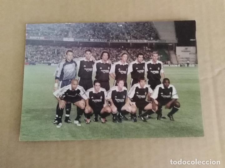 FOTOGRAFIA REAL MADRID ESTADIO BENITO VILLAMARIN BETIS (Coleccionismo Deportivo - Documentos - Fotografías de Deportes)