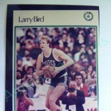 Colecionismo desportivo: CROMO EN PAPEL FOTOGRÁFICO. LARRY BIRD. BOSTON CELTICS. NBA (12,5 X 9 CM). Lote 217012265