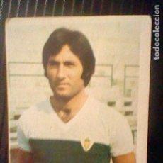 Coleccionismo deportivo: CROMO SIN PEGAR ED FINI 1975 76 1976 75 ELCHE CARRASCO DEP LEG MA *. Lote 136284470