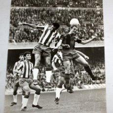 Coleccionismo deportivo: FOTOGRAFIA DEL JUGADOR DEL FC BARCELONA FRANCISCO FERNÁNDEZ RODRÍGUEZ (GALLEGO). 24 CM. X 18 CM.. Lote 136805794
