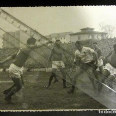 Coleccionismo deportivo: FOTOGRAFIA ANTIGUA FUTBOL REAL OVIEDO REAL ZARAGOZA. Lote 138037454