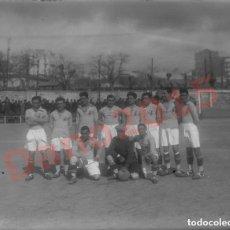 Coleccionismo deportivo: AGRUPACIÓN DEPORTIVA FERROVIARIA 1927 - NEGATIVO DE CRISTAL - FOTOGRAFIA ANTIGUA. Lote 139177366