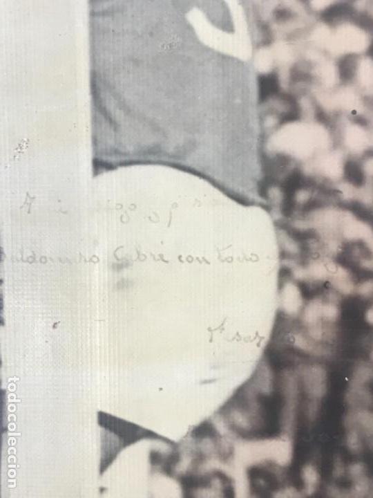 Coleccionismo deportivo: GRAN FOTOGRAFÍA CON AUTOGRAFO DE CESAR RODRÍGUEZ ALVAREZ SELECCIÓN ESPAÑOLA DE FÚTBOL 1948. - Foto 4 - 141668982