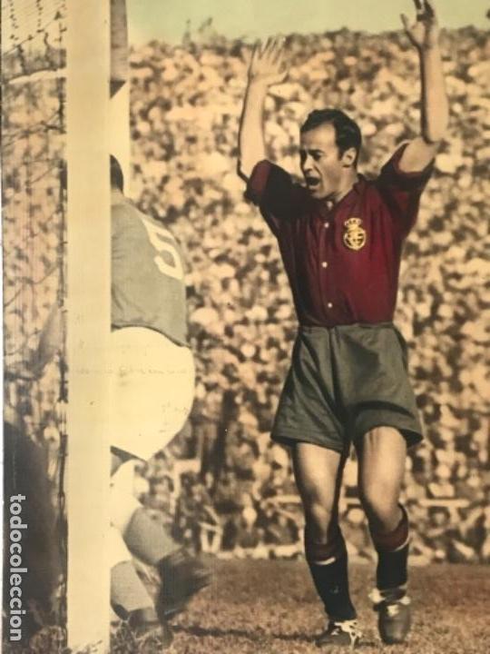 Coleccionismo deportivo: GRAN FOTOGRAFÍA CON AUTOGRAFO DE CESAR RODRÍGUEZ ALVAREZ SELECCIÓN ESPAÑOLA DE FÚTBOL 1948. - Foto 6 - 141668982