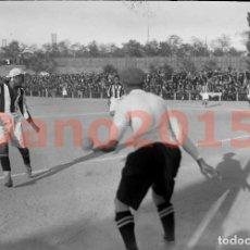 Coleccionismo deportivo: REAL MADRID F.C. - REAL SOCIEDAD GIMNÁSTICA ESPAÑOLA AÑOS 20 - NEGATIVO DE CRISTAL. Lote 142046370