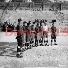 Coleccionismo deportivo: REAL UNIÓN CLUB, AÑOS 20 - NEGATIVO DE CRISTAL - FOTOGRAFIA ANTIGUA. Lote 142047698