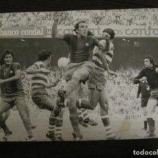 Coleccionismo deportivo: FC BARCELONA-FOTOGRAFIA ANTIGUA ORIGINAL REPORTER GRAFICO SEGUI-SOTIL-VER FOTOS-(V-15.339). Lote 142447894