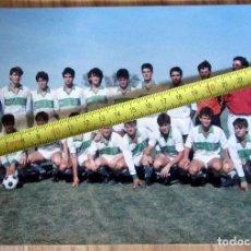 Coleccionismo deportivo: FOTOGRAFIA FÚTBOL STADIUM CASABLANCA VICTOR FERNANDEZ ENTRENADOR FUTBOL. Lote 142943834