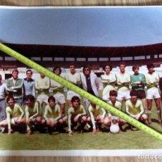 Coleccionismo deportivo: FOTOGRAFIA ANTIGUA FUTBOL STADIUM CASABLANCA LA ROMAREDA VICTOR FERNANDEZ JUGADOR REAL ZARAGOZA. Lote 142944182
