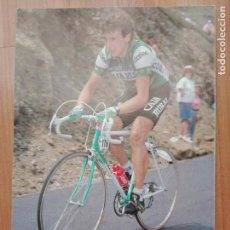 Coleccionismo deportivo: CICLISMO - EQUIPO CAJA RURAL ORBEA - AÑOS 1987-88 - JOKIN MUGICA. Lote 142967518