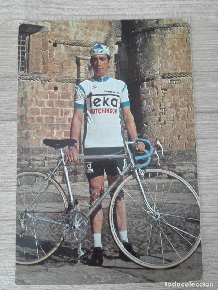 CICLISMO - EQUIPO TEKA - AÑO 1976 - JUAN FRANCISCO DEL OLMO (Coleccionismo Deportivo - Documentos - Fotografías de Deportes)