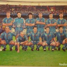 Coleccionismo deportivo: FOTO DON BALON FINAL RECOPA 1996-97 FC BARCELONA-PSG 1-0.TAMAÑO 18X12 CMS. Lote 143167238