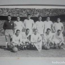 Coleccionismo deportivo: FÚTBOL - REAL MADRID - ANTIGUA FOTOGRAFÍA DE EQUIPO - LEER DESCRIPCIÓN .... Lote 143590402