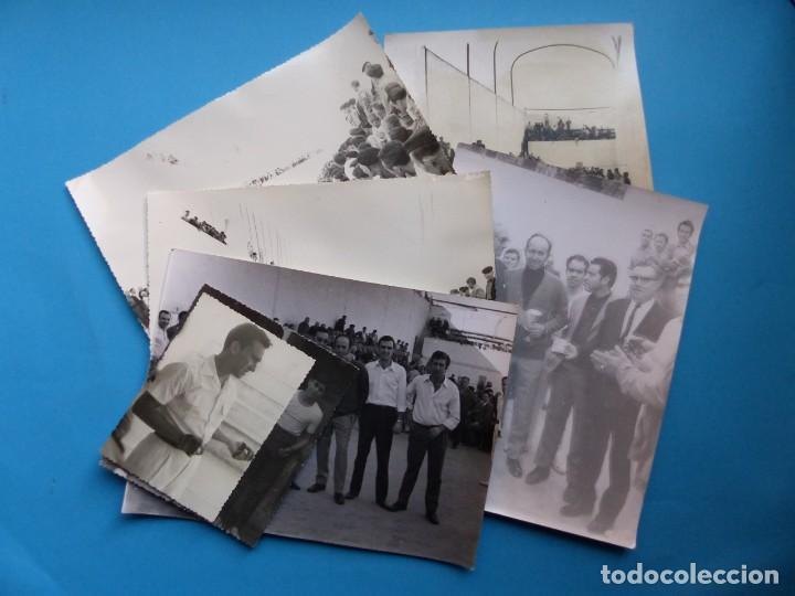 TRINQUET DE MASSAMAGRELL - 7 BONITAS FOTOGRAFIAS PELOTA VALENCIANA - AÑOS 1950-60 (Coleccionismo Deportivo - Documentos - Fotografías de Deportes)