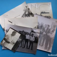 Coleccionismo deportivo: TRINQUET DE MASSAMAGRELL - 7 BONITAS FOTOGRAFIAS PELOTA VALENCIANA - AÑOS 1950-60. Lote 143686598