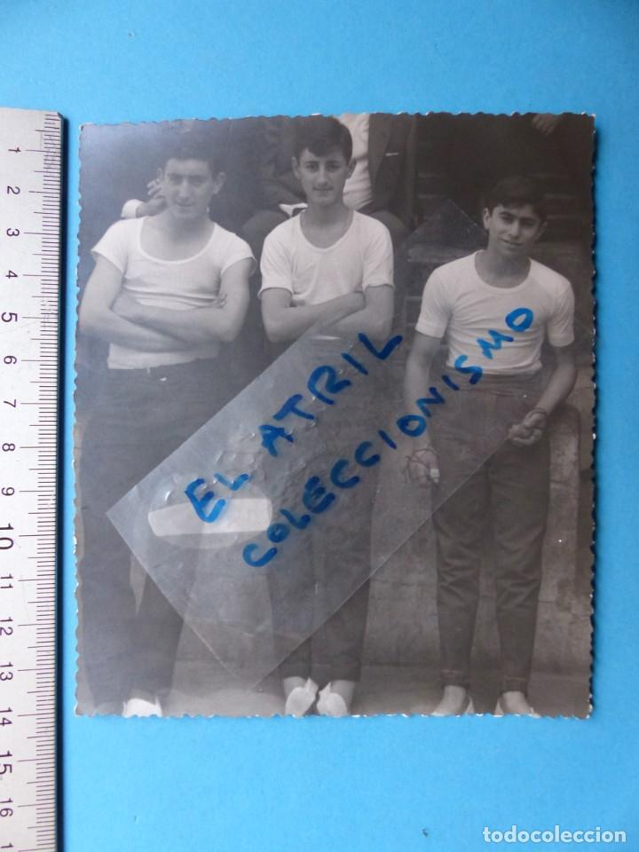 Coleccionismo deportivo: TRINQUET DE MASSAMAGRELL - 7 BONITAS FOTOGRAFIAS PELOTA VALENCIANA - AÑOS 1950-60 - Foto 10 - 143686598