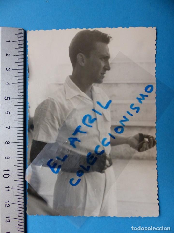 Coleccionismo deportivo: TRINQUET DE MASSAMAGRELL - 7 BONITAS FOTOGRAFIAS PELOTA VALENCIANA - AÑOS 1950-60 - Foto 12 - 143686598
