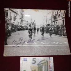 Coleccionismo deportivo: CICLISMO. VALENCIA. 10 FOTOS DE 1974. GRAN FORMATO. OGALLA FOTÓGRAFO. Lote 144149910