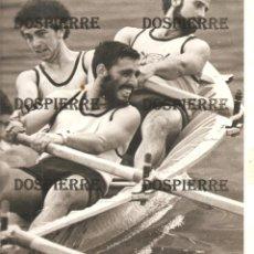 Coleccionismo deportivo: FOTO, TRAINERA JARRILLERA, PORTUGALETE, REGATA, AÑOS 70/80, 24X25. Lote 144736758