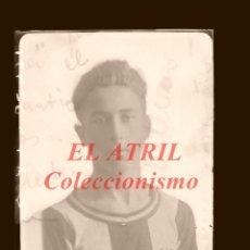 Coleccionismo deportivo: JUGADOR DEL LEVANTE U.D. - ANTIGUO CLICHE ORIGINAL - NEGATIVO EN CELULOIDE. Lote 145103914
