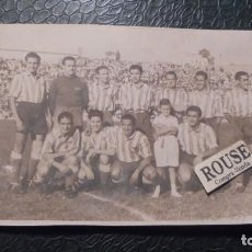 Coleccionismo deportivo: ANTIGUA FOTOGRAFIA -ATLETICO AVIACION - FOTG. S. ZARCO 17,5X11,5 CM. 1945. Lote 145530798