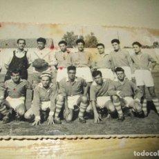 Coleccionismo deportivo: FOTO V IZQUIERDO PLANTILLA FUTBOL ANTIGUA CON CUÑO DE VALENCIA EN REVERSO. Lote 146322618
