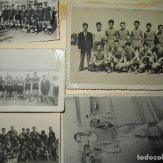 Coleccionismo deportivo: LOTE 5 FOTOS DE FUTBOL ANTIGUAS VALENCIA FABRICA . Lote 146322734