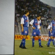 Coleccionismo deportivo: FOTOGRAFIA TAMAÑO POSTAL PARTIDO BARCELONA-AT- MADRID SIMEONE. Lote 146460686