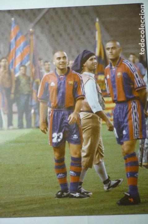 FOTO PRENSA TAMAÑO CUARTILLA LUIS ENRIQUE Y DELA PEÑA F.C.BARCELONA (Coleccionismo Deportivo - Documentos - Fotografías de Deportes)
